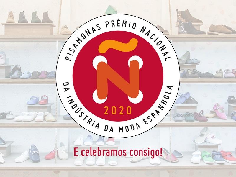 PISAMONAS PRÉMIO NACIONAL DA NDÚSTRIA DA MODA ESPANHOLA 2020!