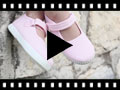 Video from Sapatos Merceditas Menina Velcro Sola tipo Ténis