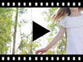 Video from Sabrinas de lona com laço de tule