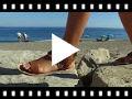 Video from Sandálias Menina Camurça Franjas