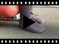 Video from Sapatos de Vela tipo Camurça com atacadores