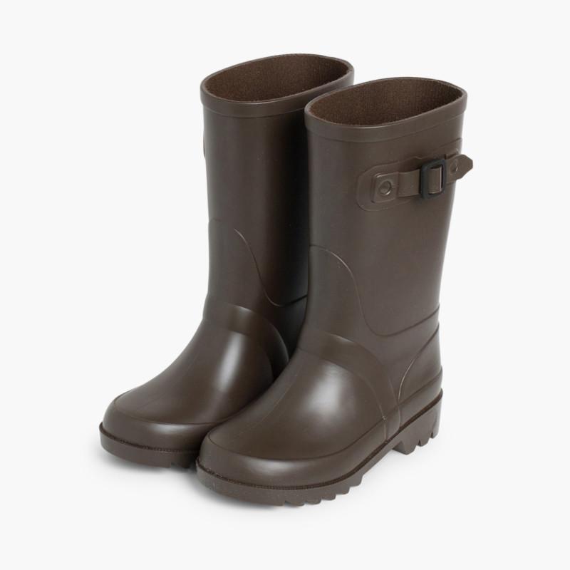 3ec7232b332 Galochas para Crianças com Fivela - Sapatos Online Pisamonas
