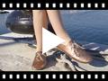 Video from Sapatos Blucher Menina e Mulher Metalizados