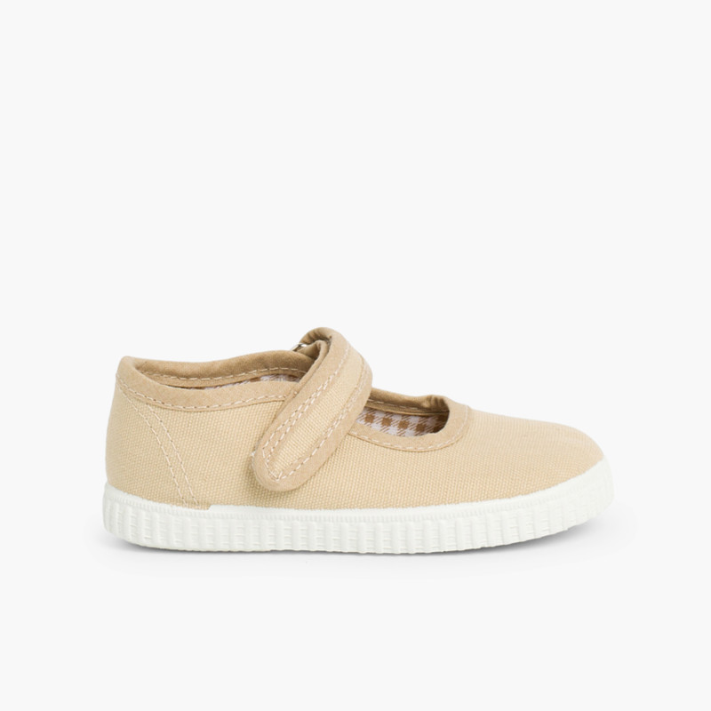 Sapatos Merceditas Menina Velcro Sola tipo Ténis