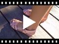 Video from Sandálias Cunha Pequena Palmilha de Gel