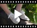 Video from Sapatos Blucher de Lona com sola Alpargata