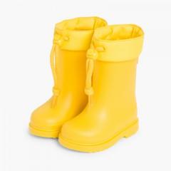 Galochas para Crianças Pequenas Igor cano ajustável Amarelo