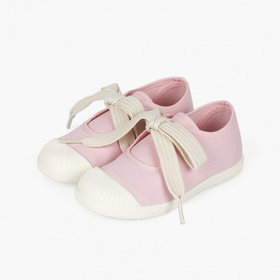Sapatos Merceditas tipo Ténis Biqueira Borracha Rosa