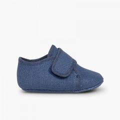Bluchers Bebé tiras aderentes   Azul