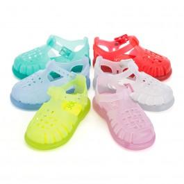 Sandálias de Borracha Lisas