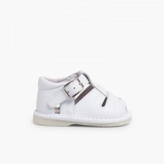 Sandálias Bebé Pele Branco