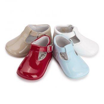 Sapato Pepito Verniz Bebé com Fivela