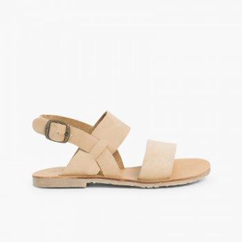 Sandálias de Camurça para Menina com Laço, Azul Escuro