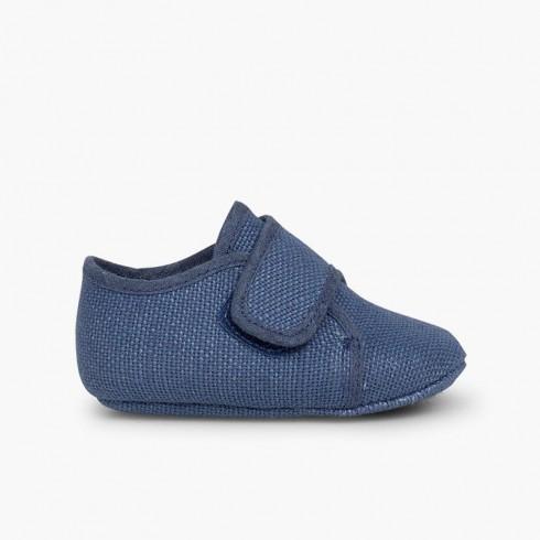 Bluchers Bebé Velcro Azul