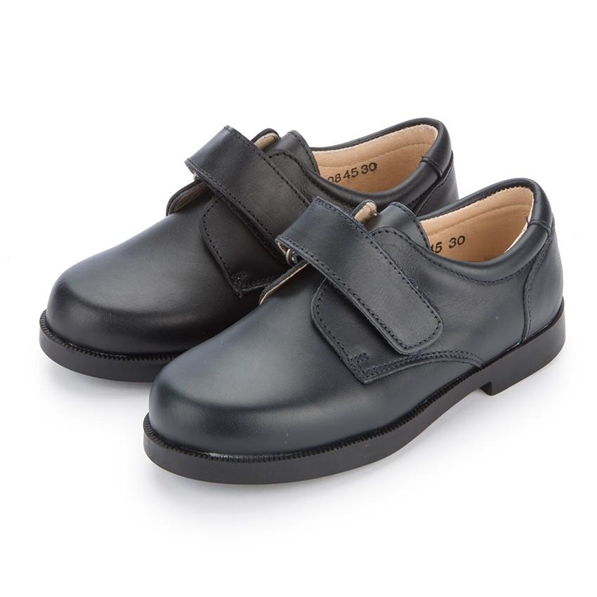 Sapatos Colegiais Menino tiras aderentes