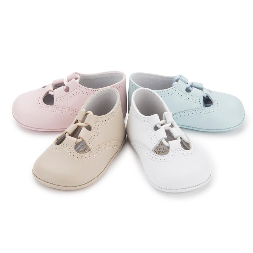 Sapato Estilo Inglês Bebé Pele