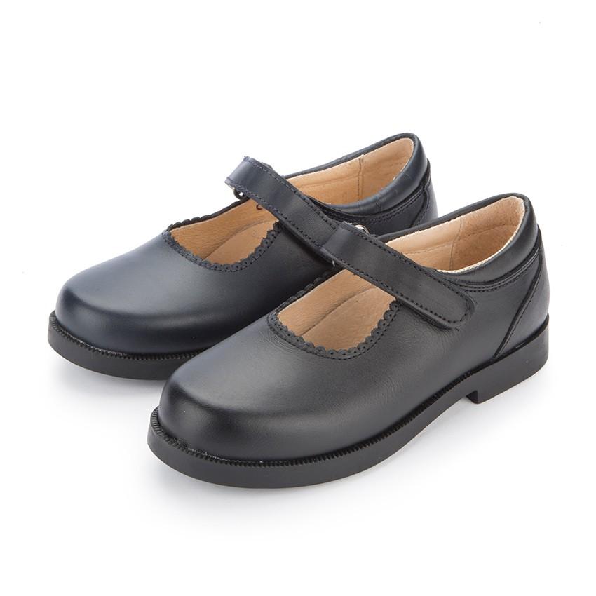 Sapatos Colegiais Menina com tiras aderentes