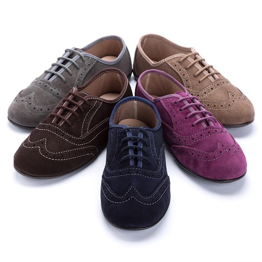 Sapatos Blucher Menina e Mulher