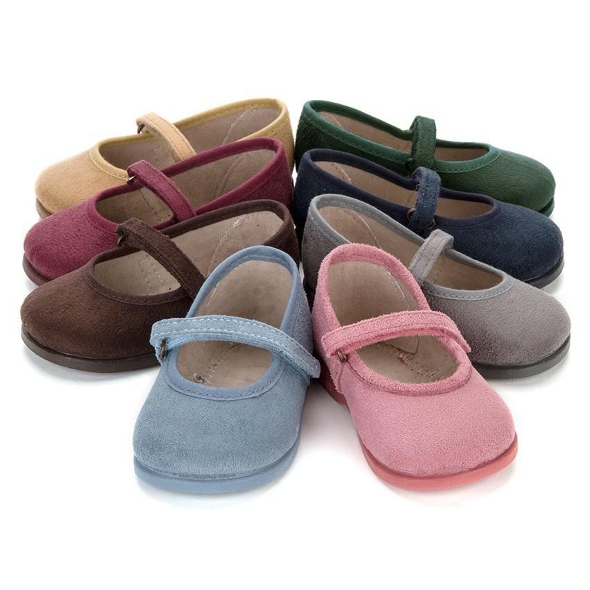 Sapatos Merceditas Bamara com Velcro