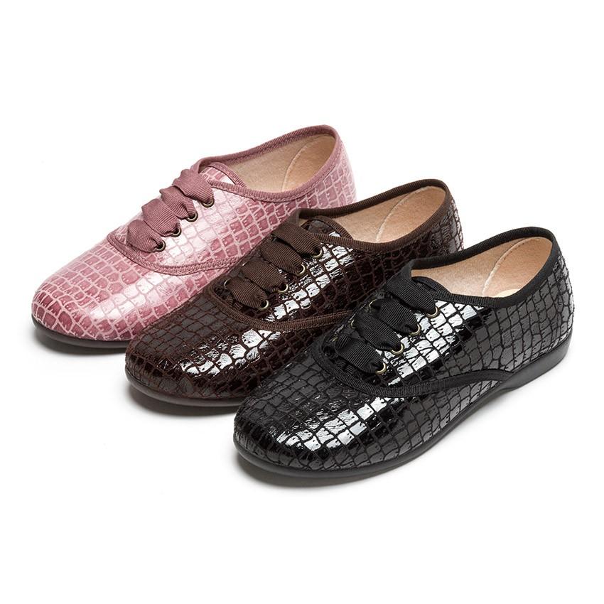 Sapatos Blucher Mulher e Menina Coco