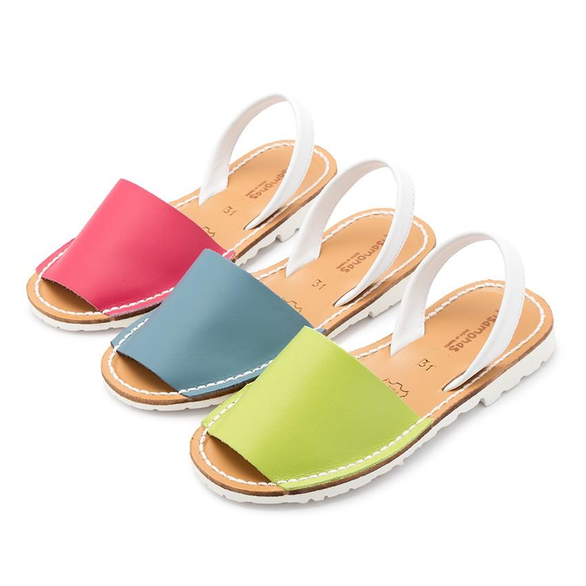 Sandálias Menorquinas Napa Bicolor Edição Especial Sola Branca