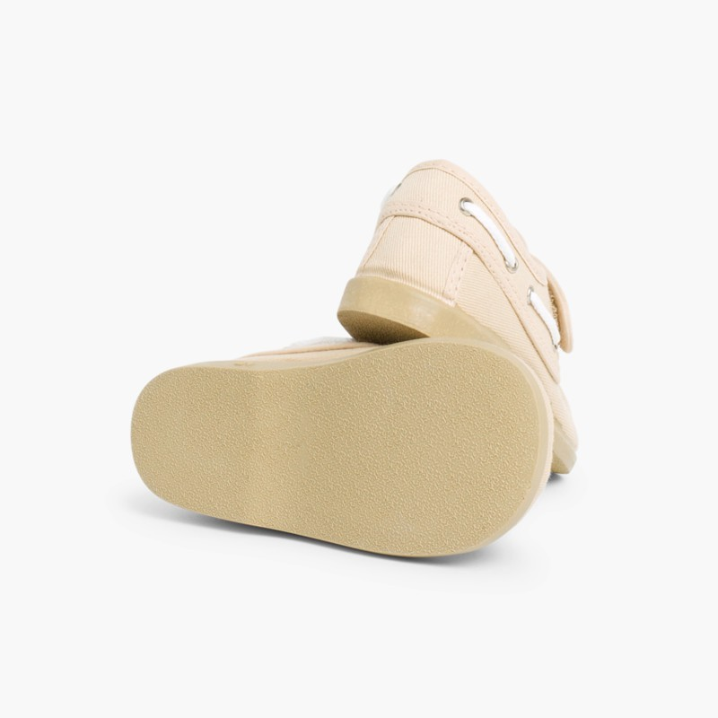 Sapatos de Vela Tela Fecho Velcro