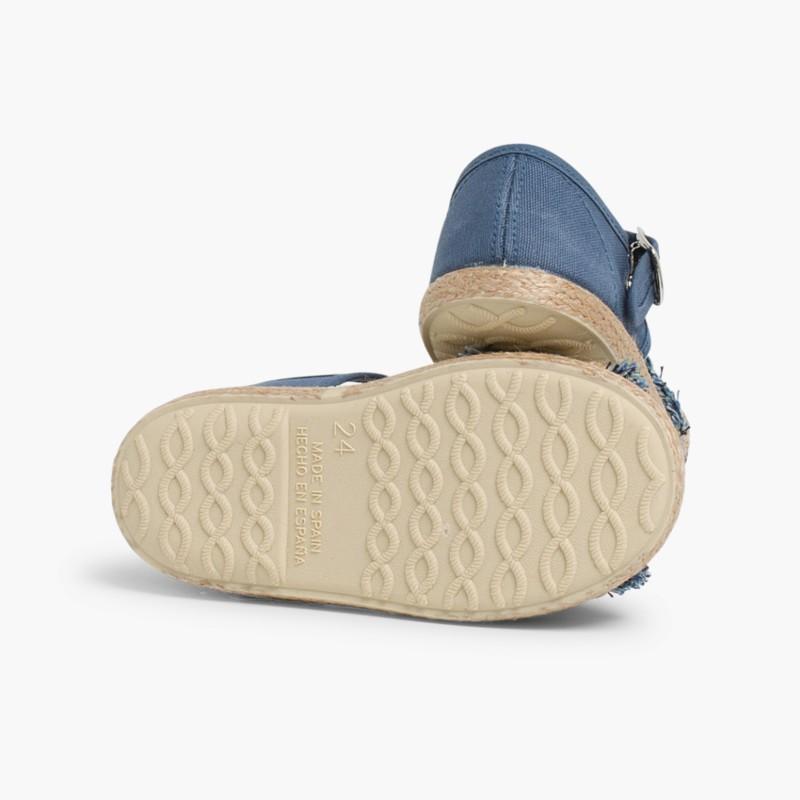 Sandálias Franjas tipo Alpargata
