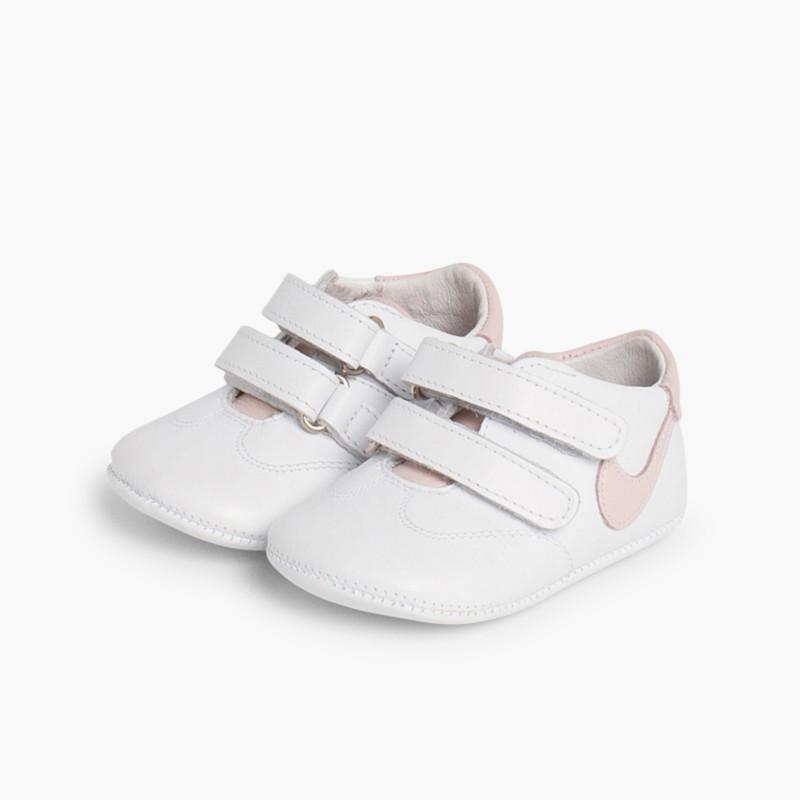 b22b5f8cc7 Ténis sem sola para Bebé pele – Sapataria Infantil Online Pisamonas
