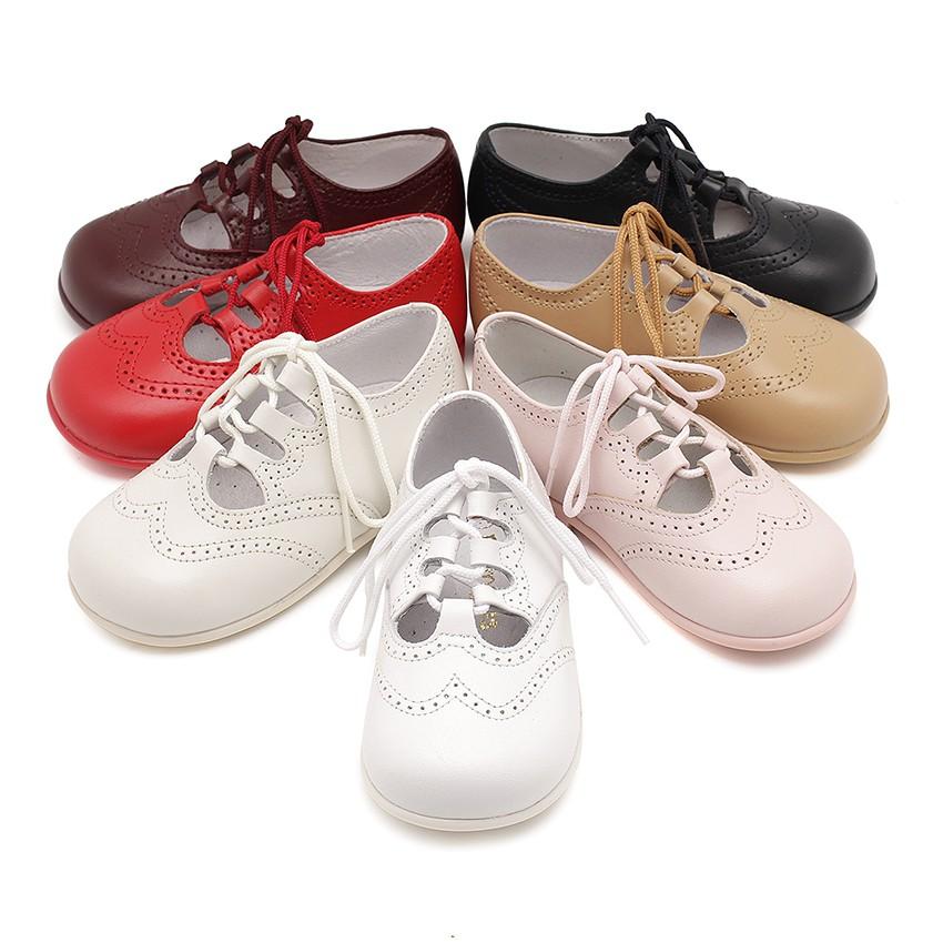 Sapato Estilo Inglês Pele