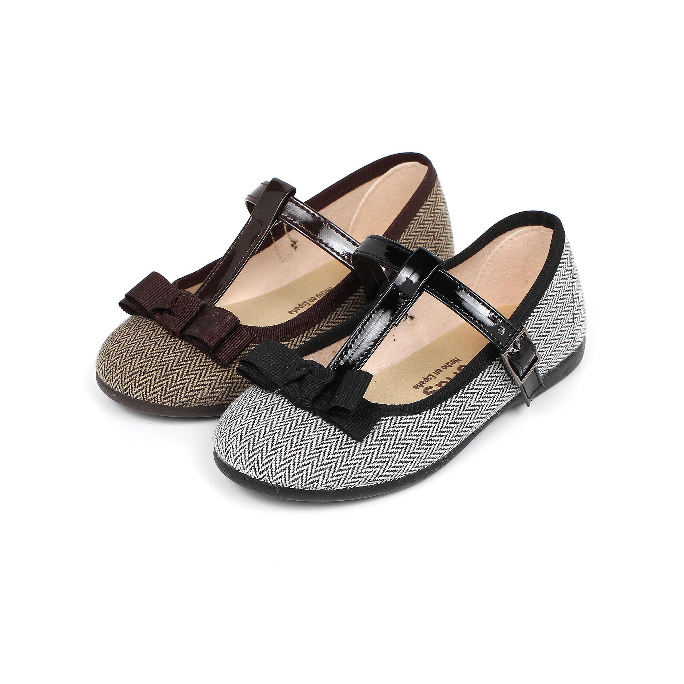 Sapatos Merceditas Espiga com Laço