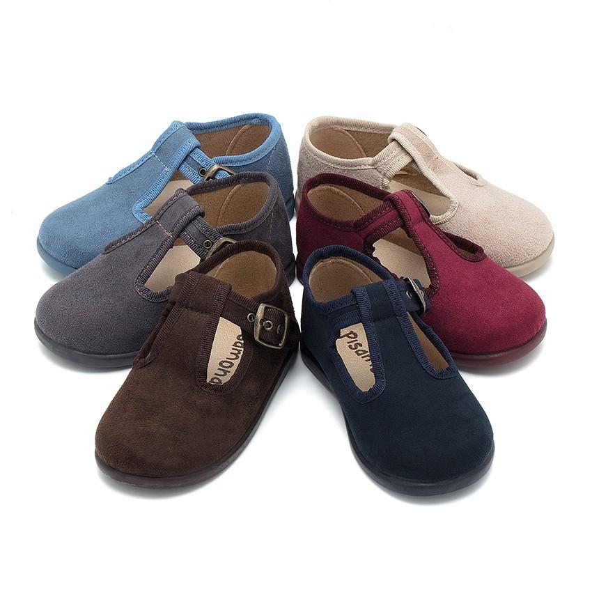 Sapato Pepito tipo Camurça
