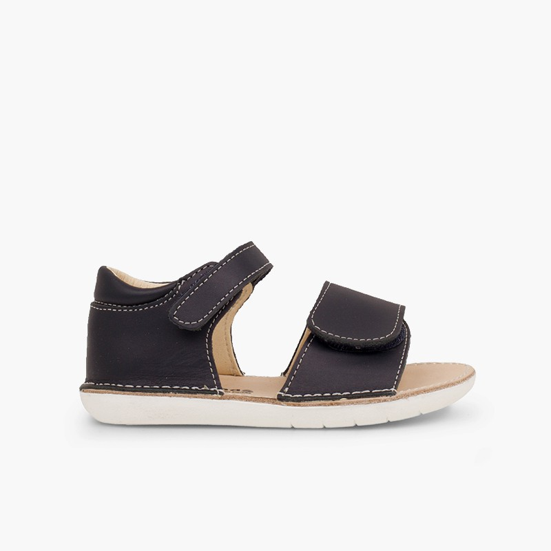 Sandálias Primeiros Passos Duplo Velcro