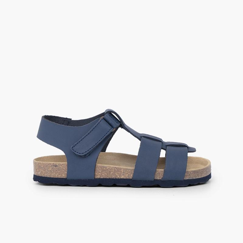 Sandálias Bio Criança Pele Nobuck