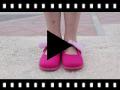Video from Sapatos Merceditas Lona Velcro com Laço de Vichy