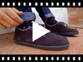 Video from Sapatos de Vela de Camurça Crianças e Adultos