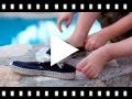 Video from Alpargatas Crianças com elástico