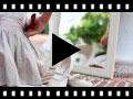 Video from Sapatos Merceditas Linho com Velcro Fino