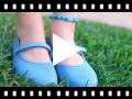 Video from Sapatos Merceditas Tecido com Velcro Fino