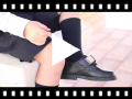 Video from Sapatos Colegiais com Velcro Azul Marinho/Preto
