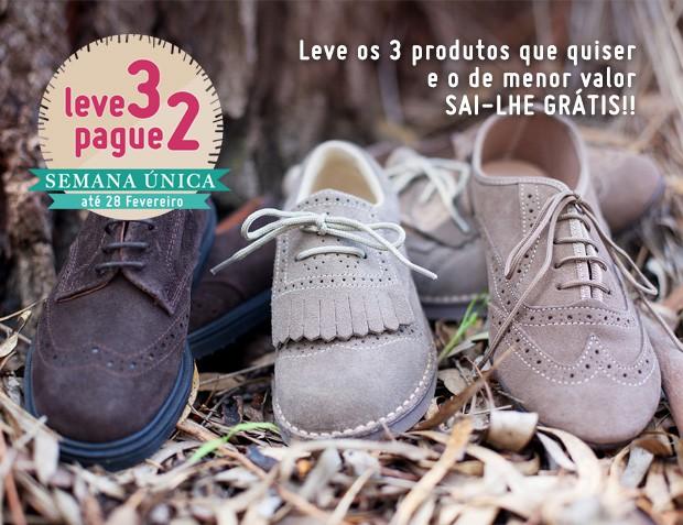 3x2 Sapatos Blucher