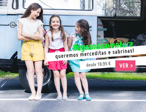 Sabrinas e Sapatos Merceditas Coleção Primavera Verão 2017