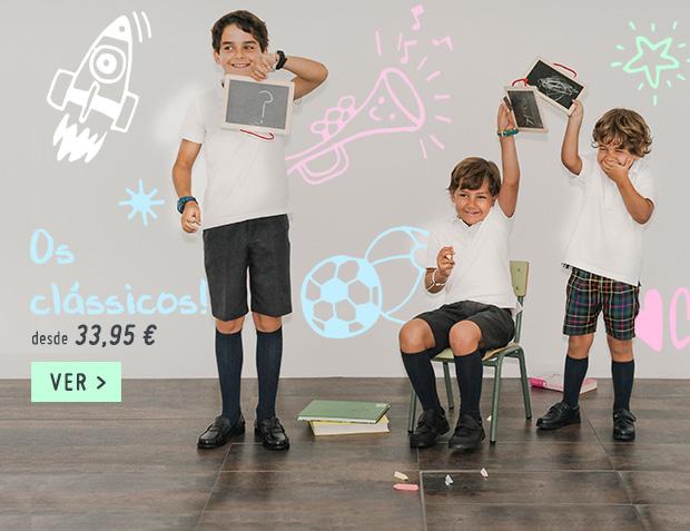 Sapatos Colegiais Regresso as Aulas 2018