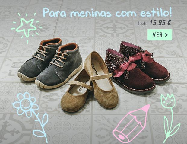 Sapatos Regresso as Aulas Menina