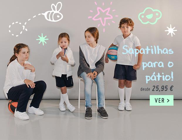 Sapatilhas Menino Regresso as Aulas 2018