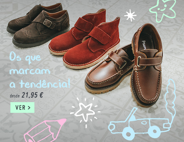 Sapatos Menino Regresso as Aulas 2018