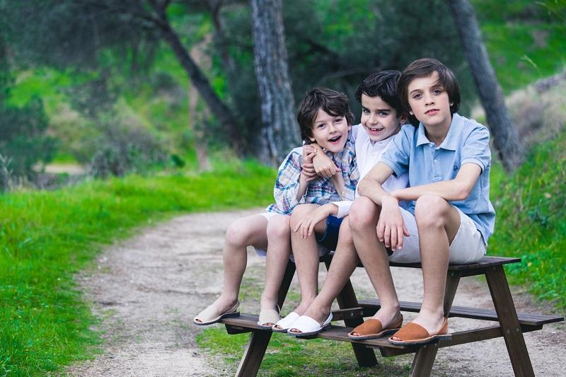 Sandálias Menorquinas para Crianças e Adultos