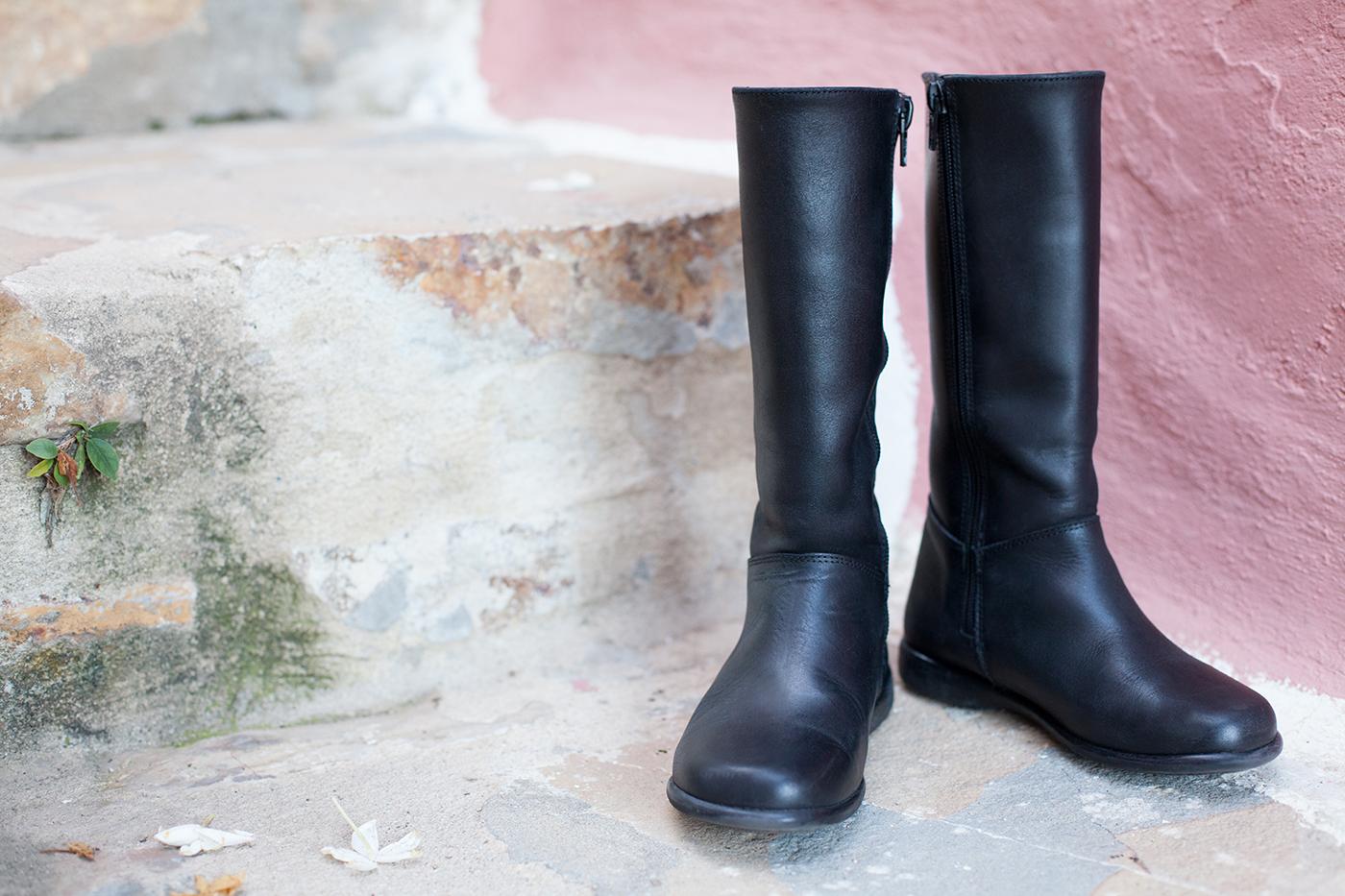 Limpar Botas de Pele de Mulher