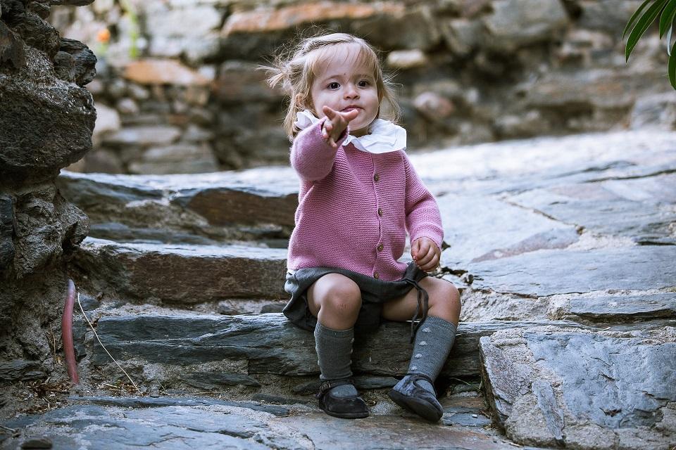 Merceditas Veludo para Bebé e Meninas