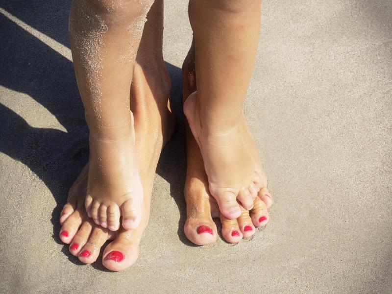 Cuidar dos pés no Verão