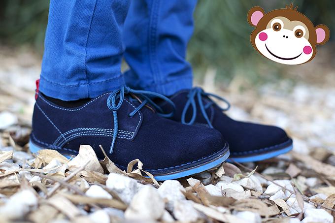 O sapato Blucher